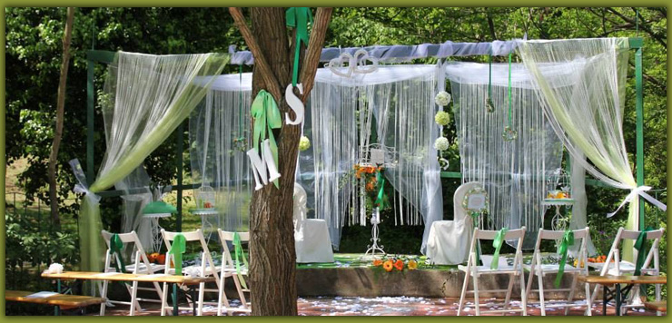 Allestimento giardino per matrimonio uu18 pineglen for Allestimento giardino